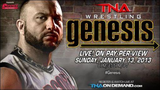 TNA Genesis 2013 Banner